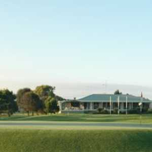 Ocean Grove GC: Clubhouse & #1